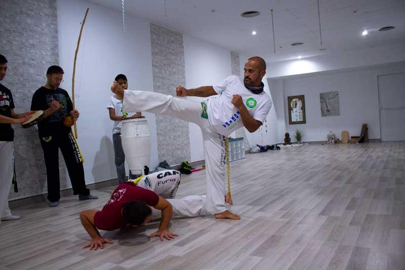 capoeira carcagente